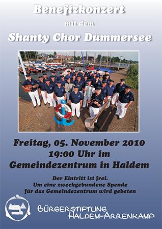 Benefiz-Konzert mit dem Shanty-Chor Dümmersee